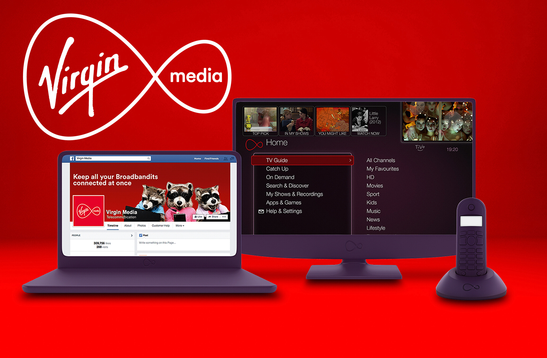Virgin Media Bundled Services