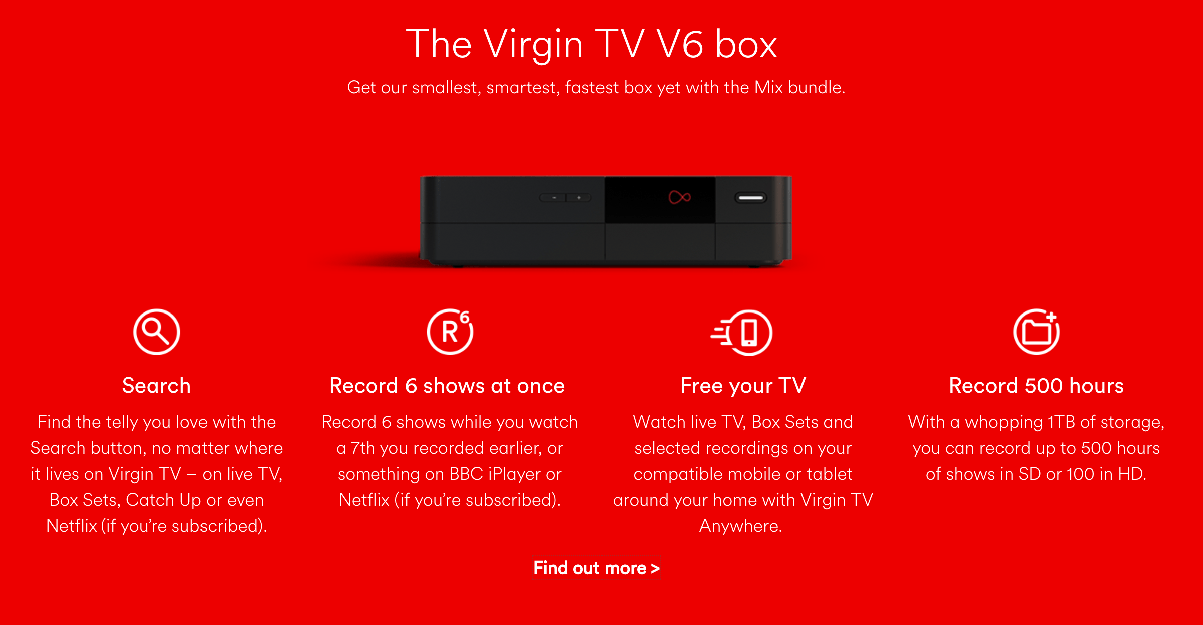 Virgin Media Mix Bundle